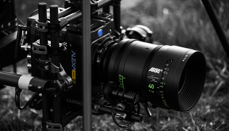 Alexa Mini LF & Signature Prime 40mm