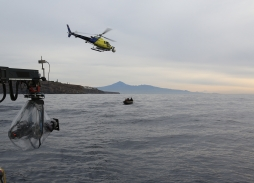 Helicopter Aerial Filming for In The Heart Of The Sea using Eclipse XLHD aerial camera
