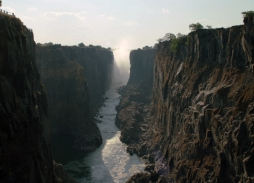 View From The Front Seat In The Gorge at Victoria Falls!