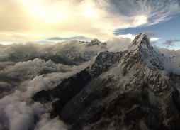Helicopter Aerial filming for Everest Mountain Rescue for The Discovery Channel | Aerial Filming