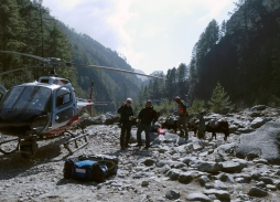 Kathmandu Helicopter Aerial Filming, Everest Mountain Rescue for The Discovery Channel mini series | Marzano Films