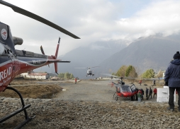 Everest Rescue Aerial Filming | Helicopter Aerial Filming Marzano Films