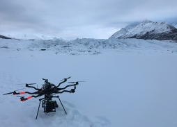 Alta 8 & Movi Pro Aerial Drone Cinematography Filming Over Snowcapped Scotland
