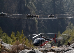 Aerial Filming for Mount Everest Rescue for The Discovery Channel | Marzano Films Helicopter aerial filming
