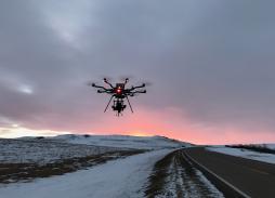 Alta 8 & Movi Pro Aerial Drone Filming Over Scotland