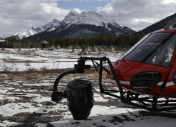 Helicopter Aerial Filming using Shotover K1 for The Revenant in Canmore, Alberta | Marzano Films